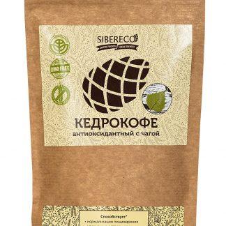 Кедрокофе антиоксидантный с чагой Sibereco, 250 гр.