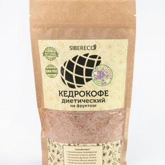 Кедрокофе диетический на фруктозе Sibereco, 250 гр.
