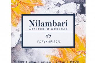 Шоколад горький 70% Nilambari