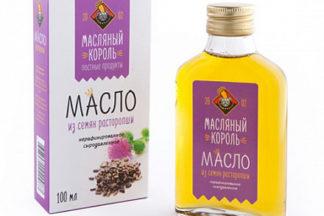 Масло из семян Расторопши 100% Масляный король