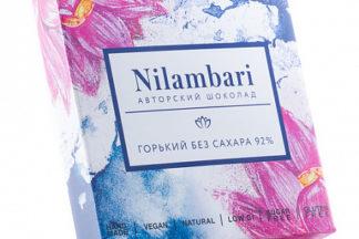 Шоколад горький без сахара, 92% Nilambari