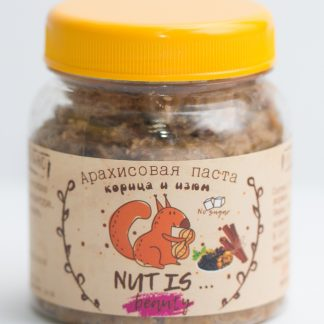 Арахисовая паста корица и изюм Nut Is