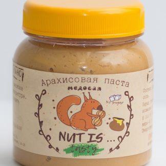 Арахисовая паста медовая Nut Is