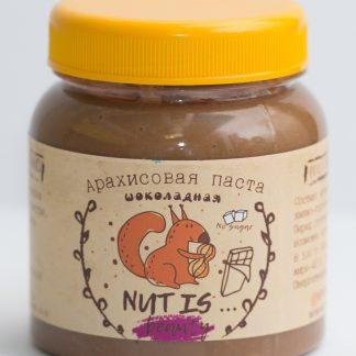 Арахисовая паста Шоколадная Nut Is