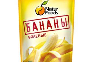 Вяленые бананы NaturFoods 200 гр.