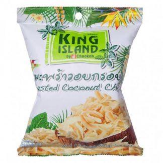 Кокосовые чипсы, 40 гр. KING ISLAND