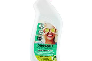 """Эко гель для мытья туалета """"Органические эфирные масла бергамота и чайного дерева"""" Organic People 750мл"""