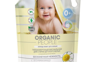 Гипоаллергенный бальзам для стирки детского белья Organic People 2л
