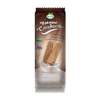 Батончики со сливочной начинкой в молочно-шоколадной глазури Умные сладости