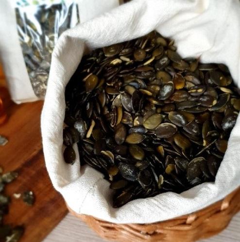 семена черной тыквы