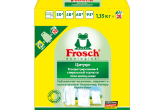 """Стиральный порошок для цветного белья """"Цитрус"""" Frosch 1,35кг"""