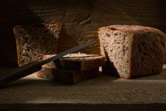 """Хлеб бездрожжевой цельнозерновой """"Ароматный"""""""