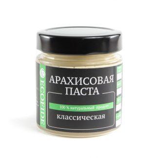 Арахисовая паста классическая ECOFIDE 180гр