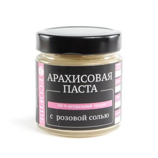 Арахисовая паста с розовой солью ECOFIDE 180гр