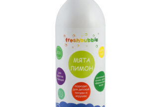"""Гель для мытья посуды """"Мята и Лимон"""" 500мл Freshbubble"""