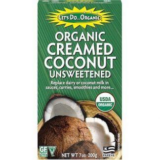 Кокосовая манна Organic Creamed Coconut 200гр